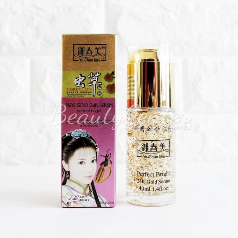 Serum Wajah Yu Chun Mei Pure Gold 24K Serum Original BPOM