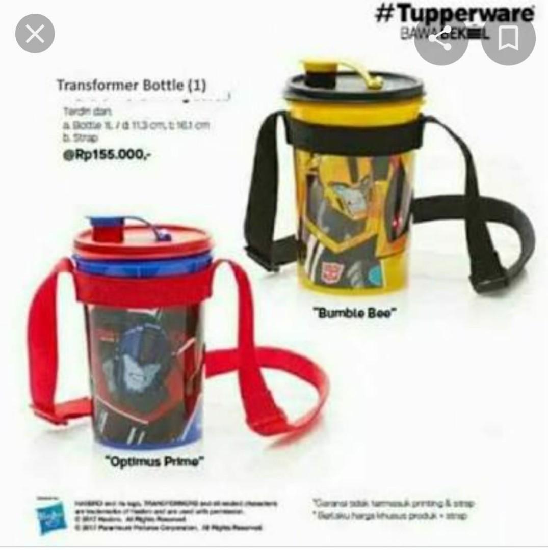 Tupperware Transformer bottle