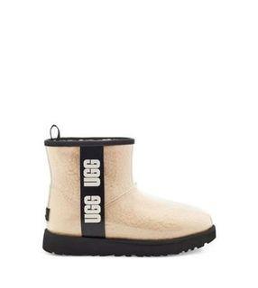【全新】UGG Classic Clear Mini 經典迷你短靴 透明款 周冬雨同款 US7