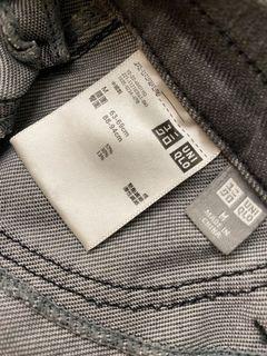 Uniqlo 合身彈性纖維棉長褲 尺寸:M