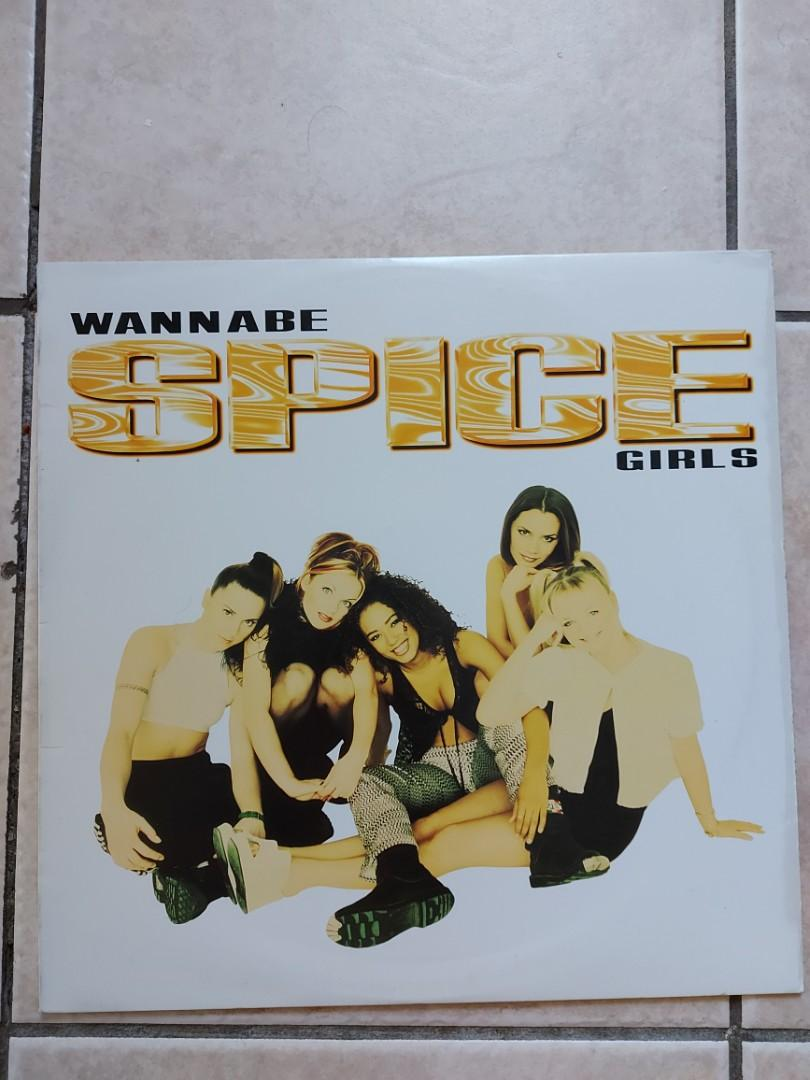 """2 - Spice Girls 12"""" singles on vinyl - Wannabe & Say You'll be there"""