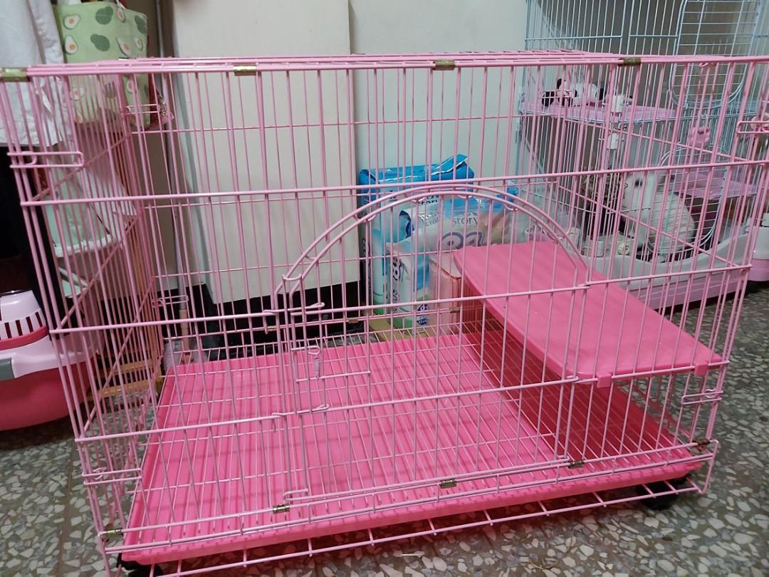 3*2*2靜電烤漆單層貓籠(限面交)