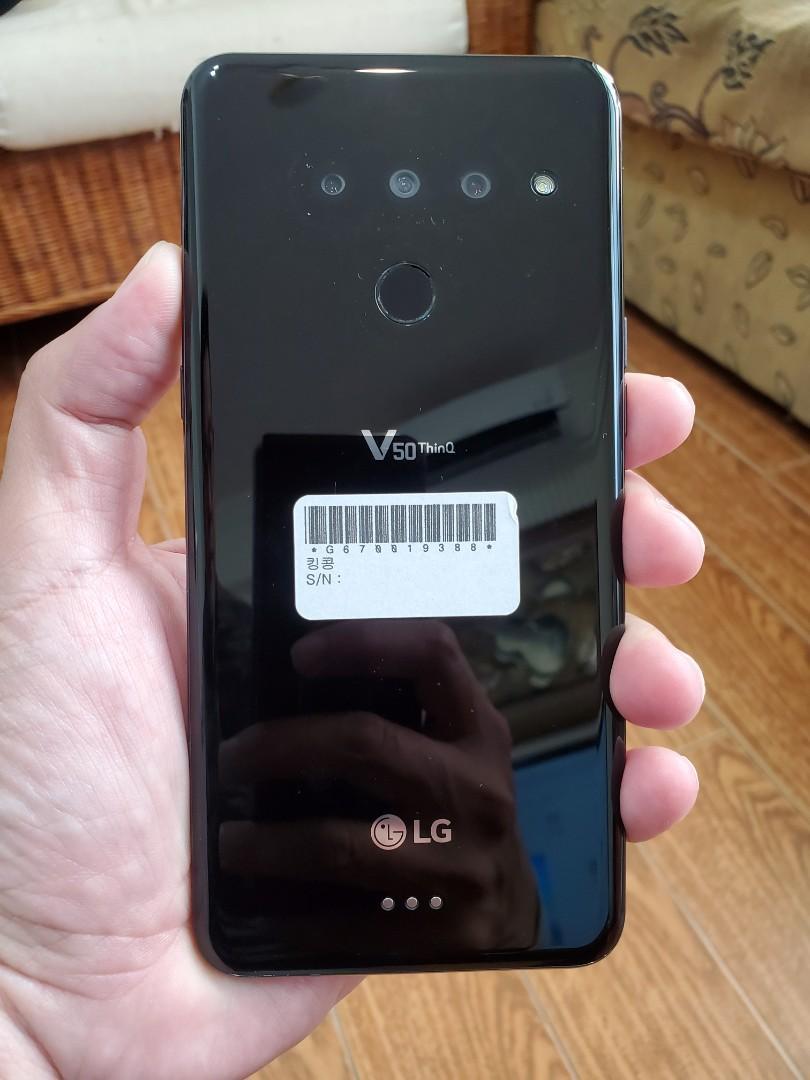 超值5G↗LG V50 5G 手機↗6GB RAM+128GB ROM
