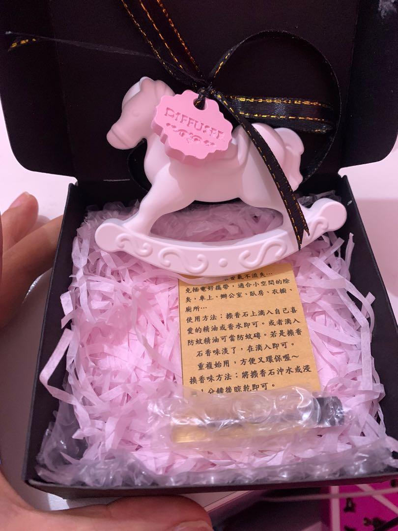 木馬擴香石(禮盒含精油