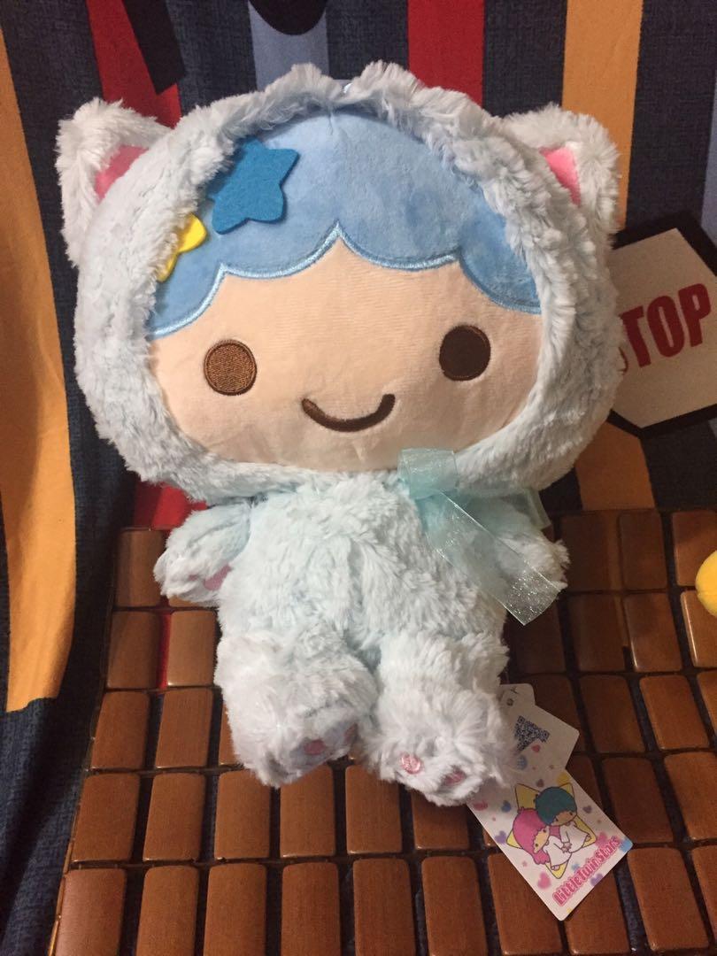 甜心 🍄三麗鷗雙子星玩偶 藍色 12英吋 🥗#保暖