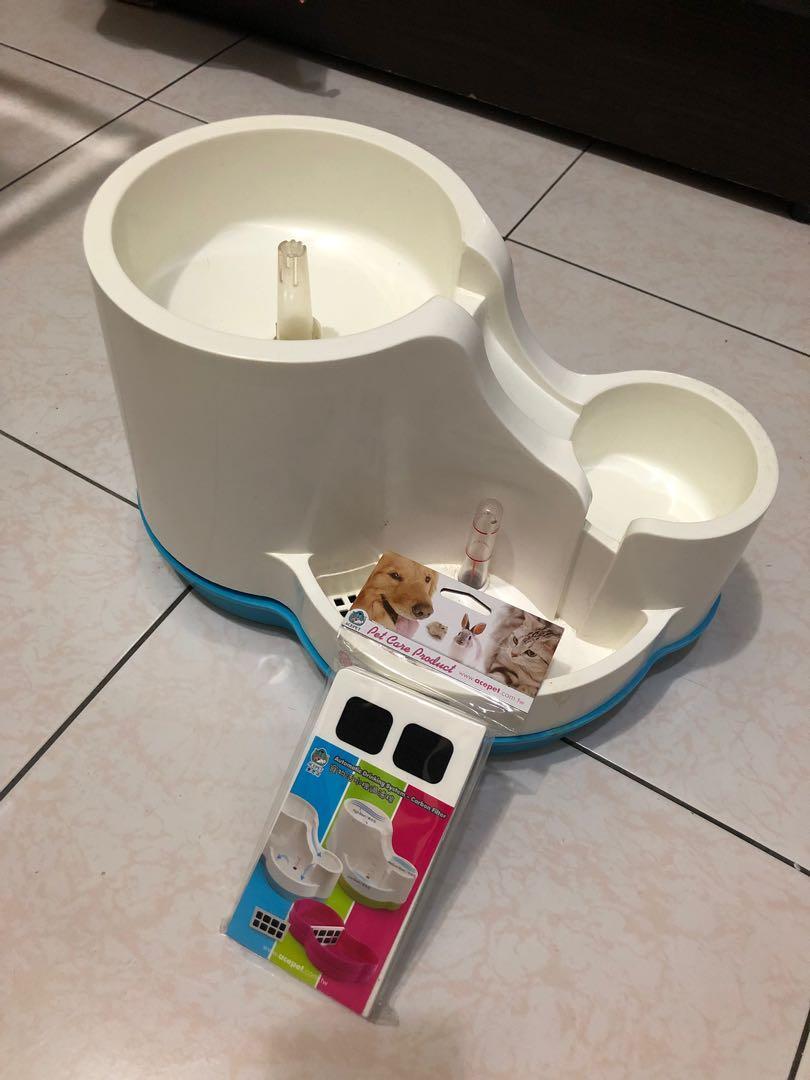 三合一寵物飲水機+濾網