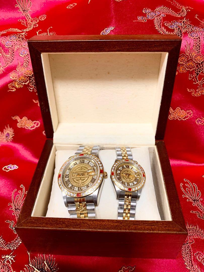 經國先生百年誕辰紀念對錶(鍍金)