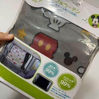 迪士尼 米老鼠 車用窗簾
