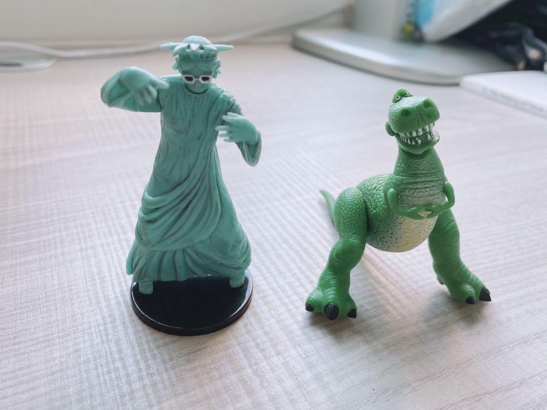 玩具總動員 太自由女神 扭蛋