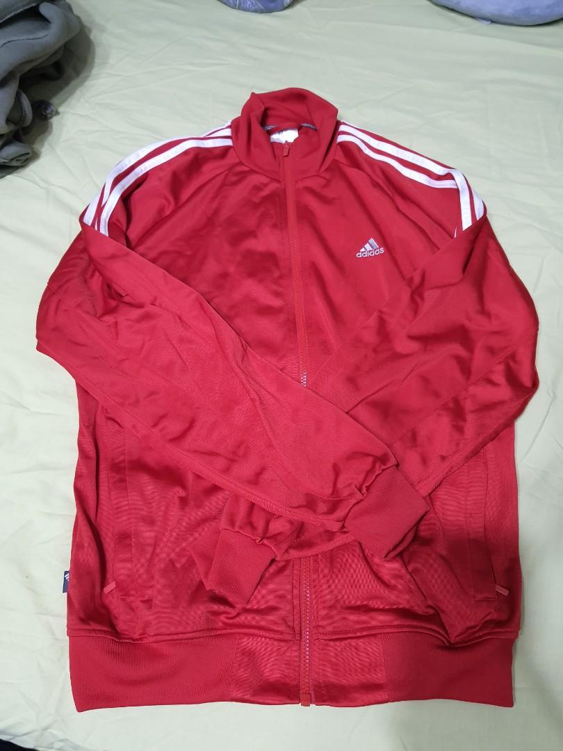 Adidas 愛迪達外套 紅色