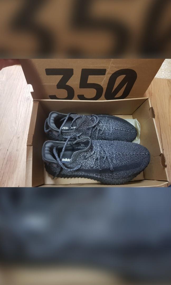 adidas yeezy 350 椰子 滿天星 黑