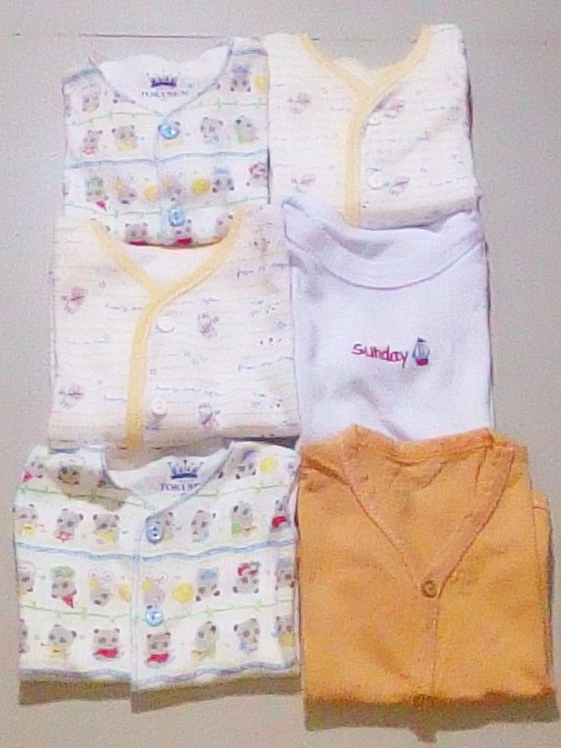 Baju bayi ( 6pcs TAKE ALL )