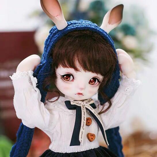 BJD娃娃 SD娃娃 1/6分萌娃 Gina金娜 小笨兔 萌寵 關節可動玩偶
