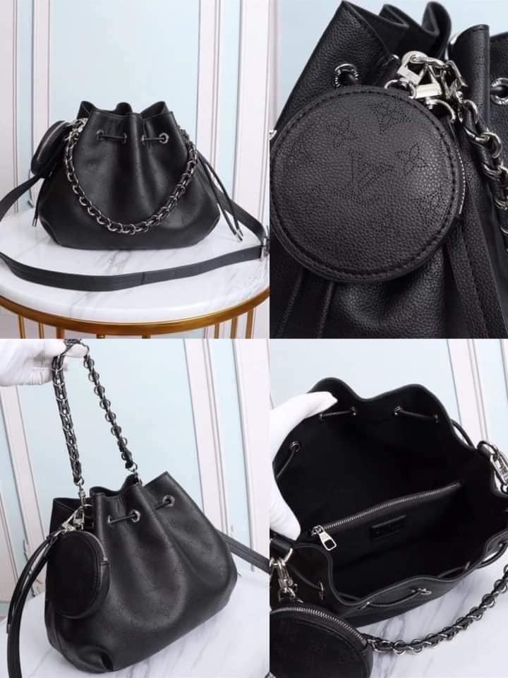 Cute black leather bag