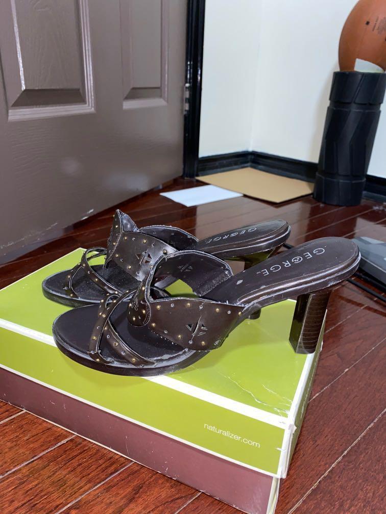 Dark Brown Heels