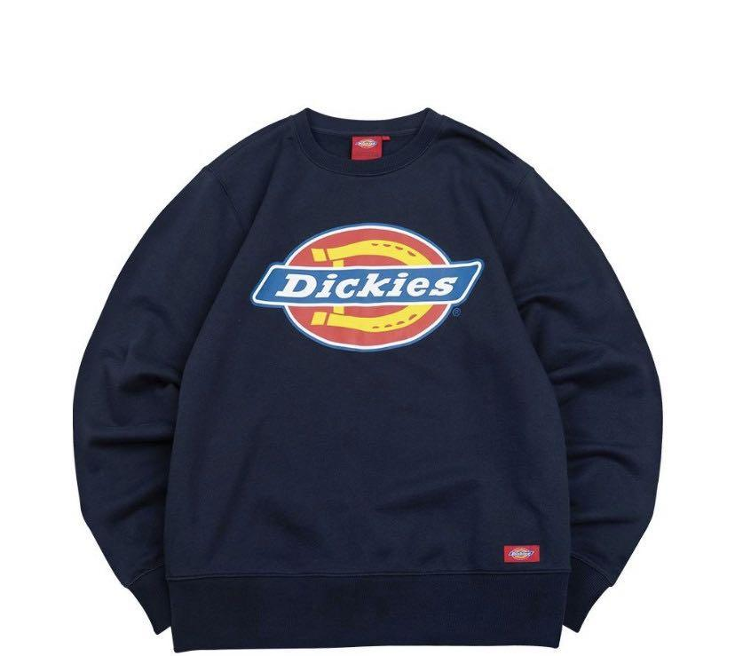 Dickies 大學t 圓領運動衫 不換物