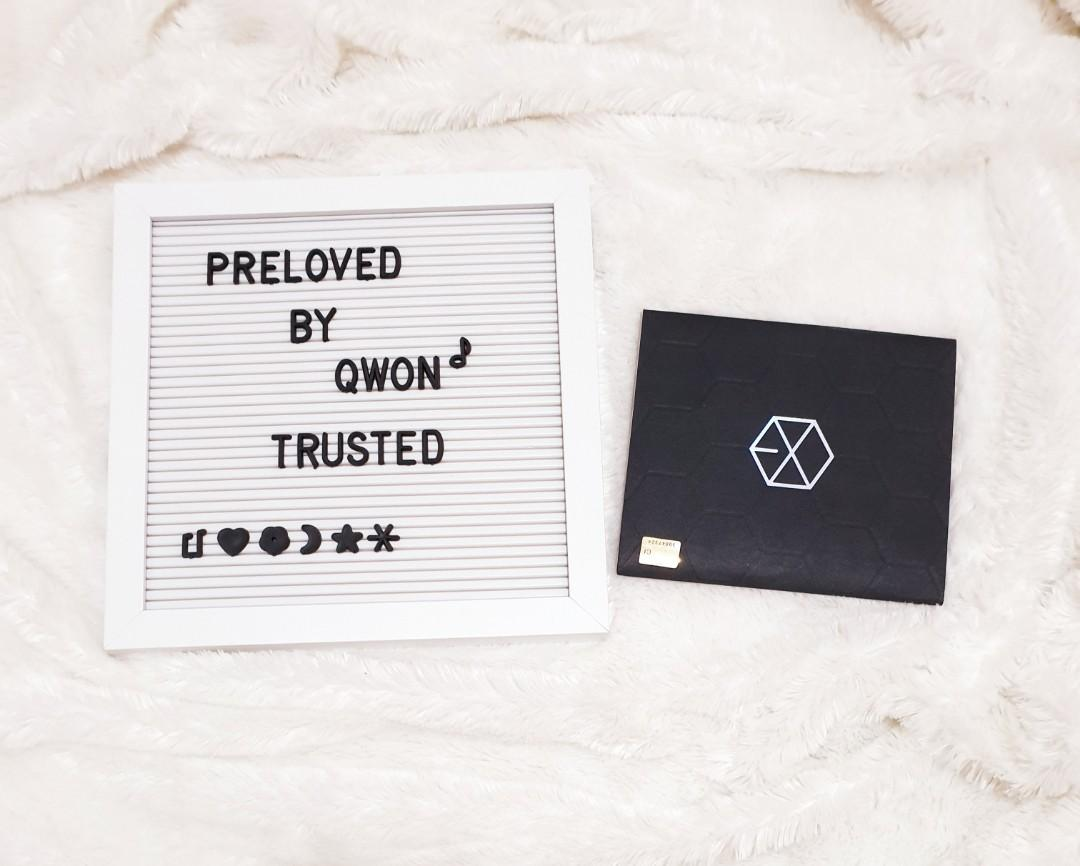 EXO The 1st Mini Album Black Ver./kwave/kpop/kpopcd/preloved