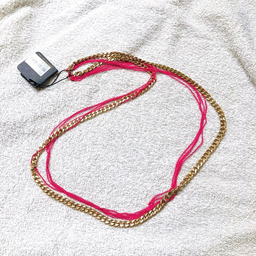 F21 Layered Chain Necklace (Free Shipping)