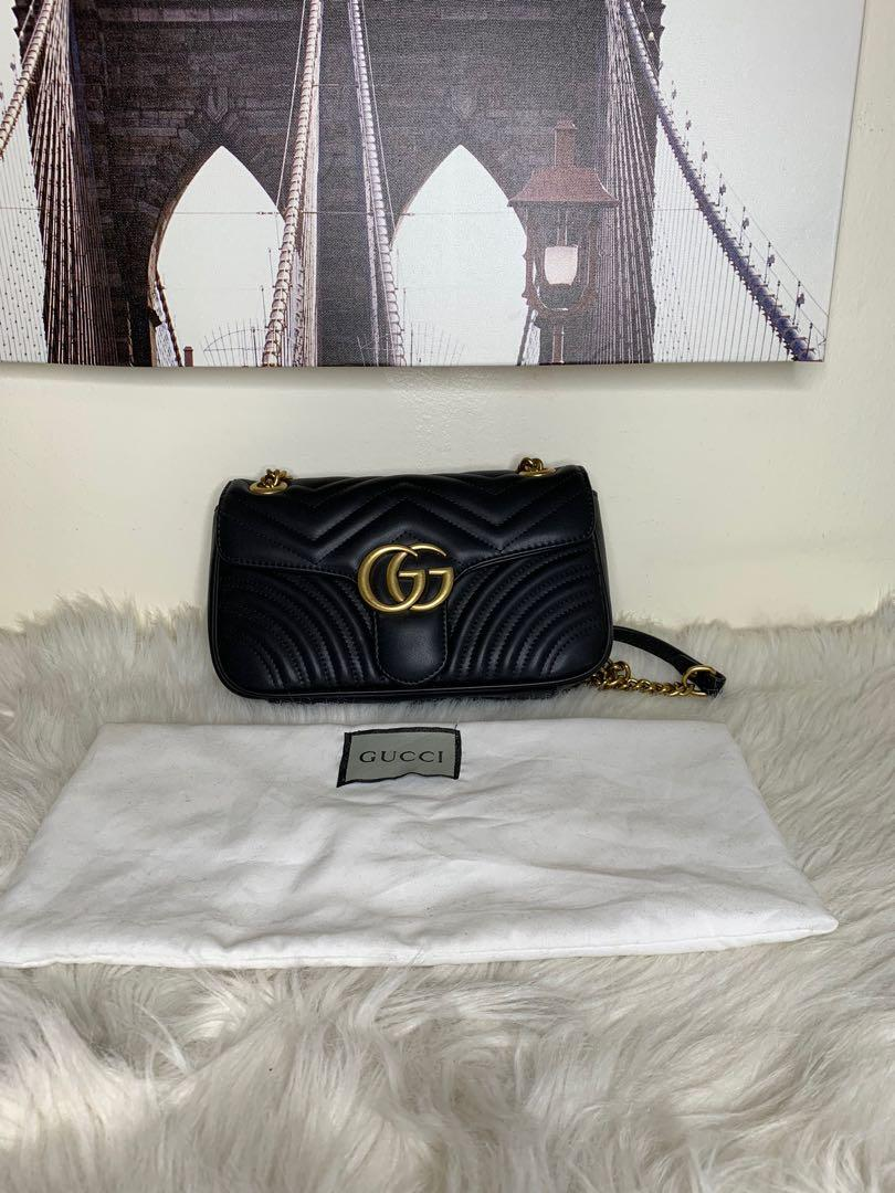 Gucci mormont leather