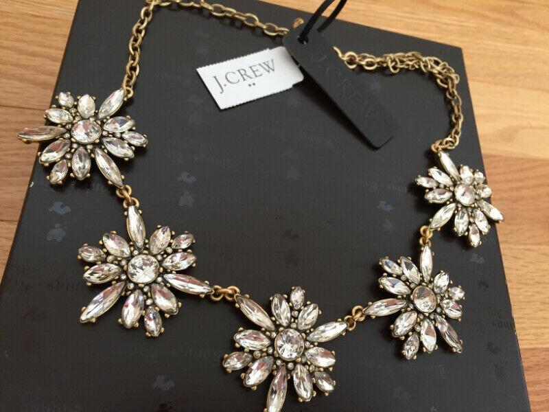 J.Crew Crystal Explosion Necklace