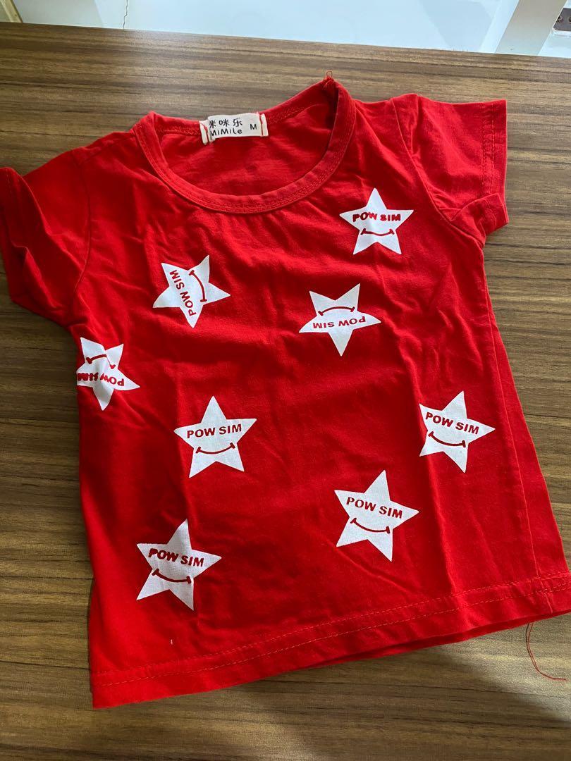 Kaos Anak Merah 9-12M
