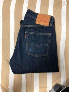Levis lvc 501 原色牛仔褲 日本製 1966年代復刻版型 大E