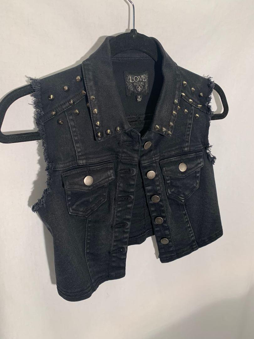 Love Culture crop vest - size S - lightly worn