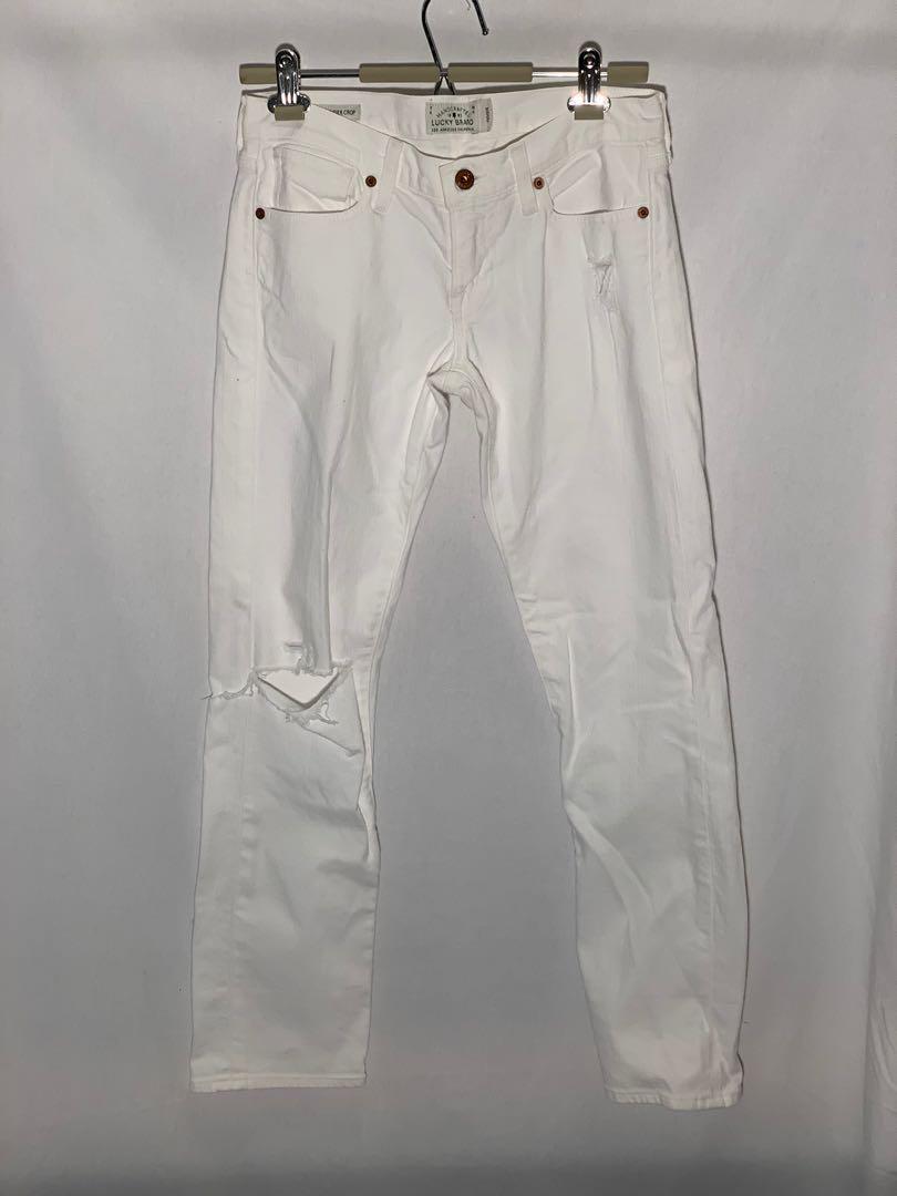 Lucky Brand Sienna Weekender Crop Jeans - size 24 - lightly worn