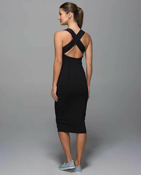 Lululemon Black Picnic Play Dress - Size 4