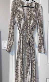 M Boutique waterfall jacket size small