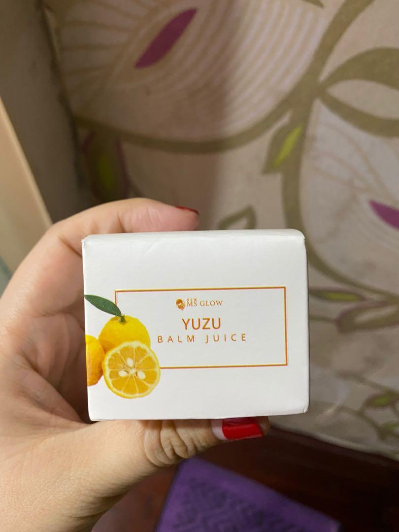 MS GLOW Yuzu Balm Juice