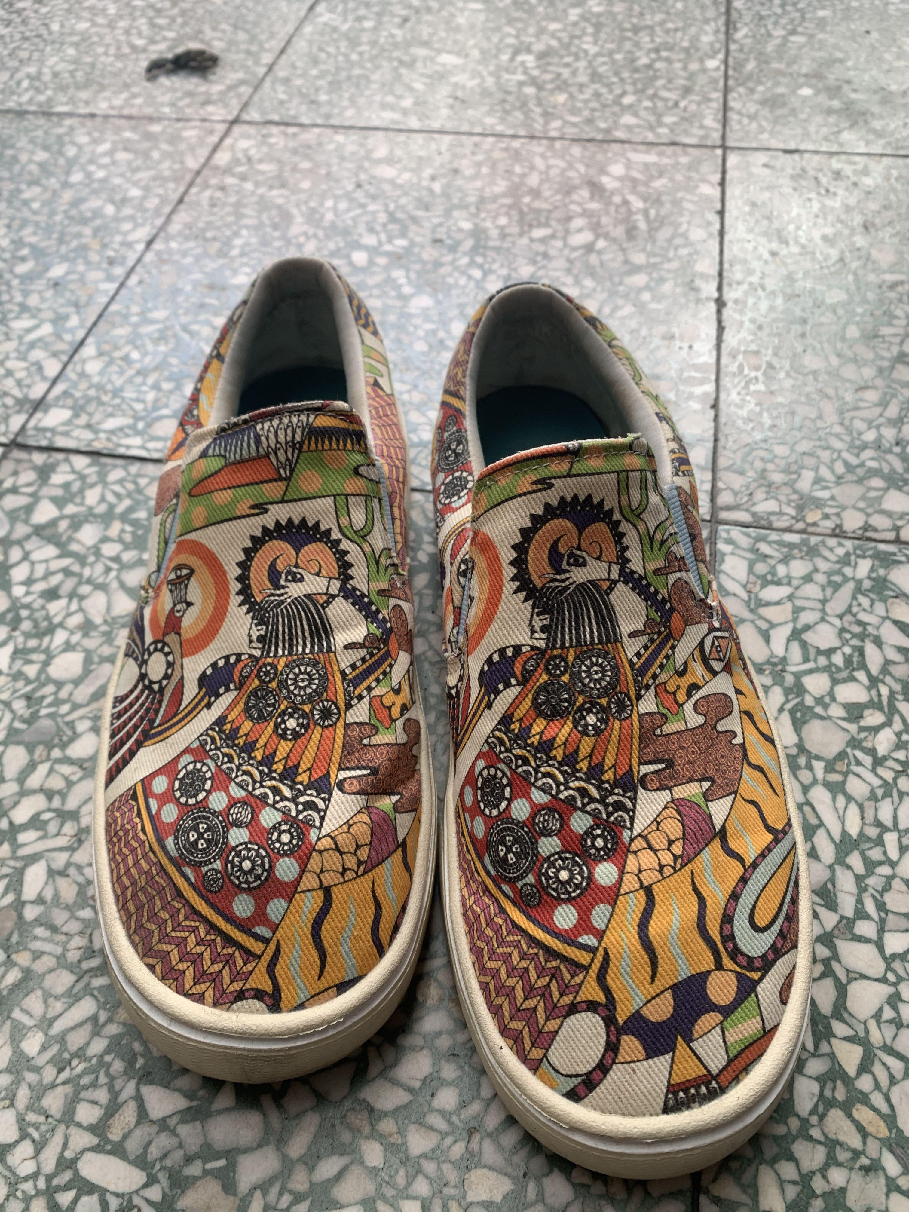 Native帆布鞋,懶人鞋