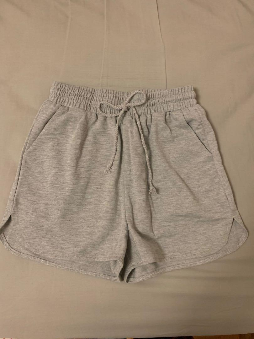 NEW drawstring sweat/track shorts