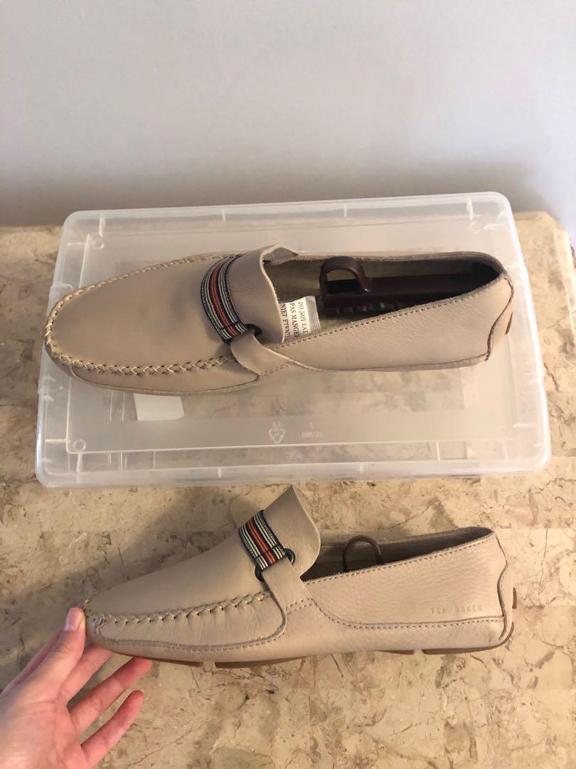 New ted baker leather loafers