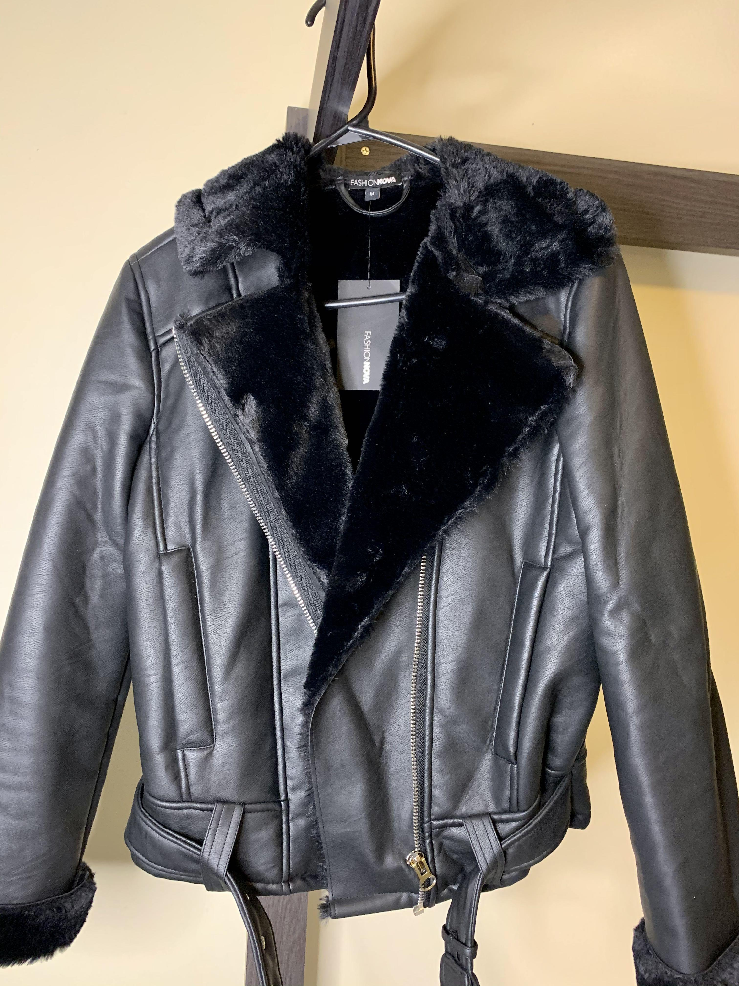 NWT aviator jacket from FN