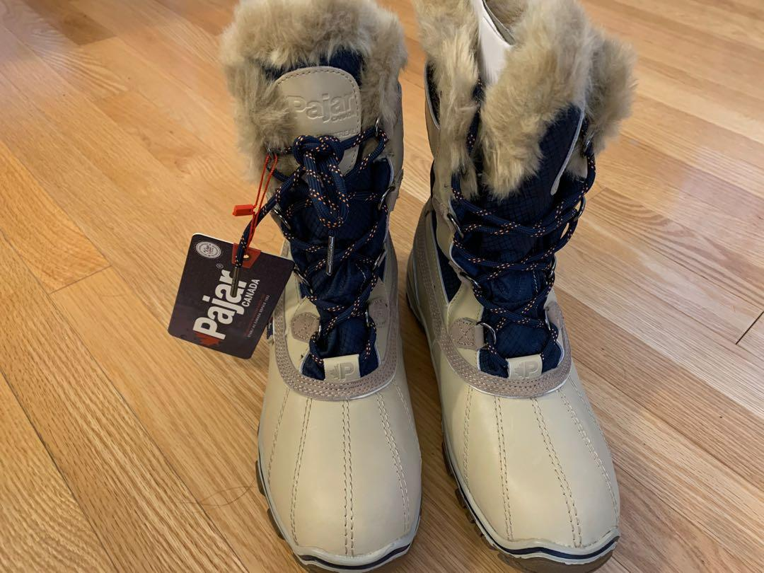Pajar Waterproof Snow Boots - Size 10, NEW