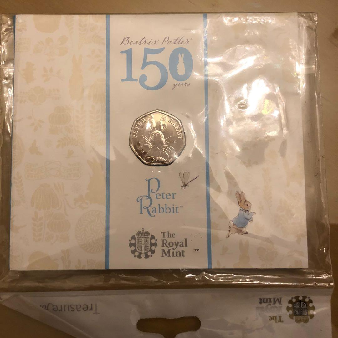 Peter  Rabbit彼得兔150週年套幣 #全新未拆封