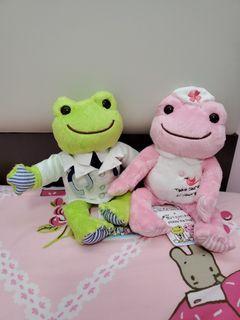 一對pickles the frog 戀愛持續到天長地久 佐藤健 上白石萌音 醫生 護士 青蛙