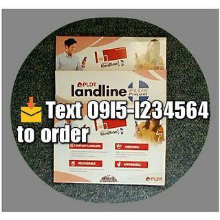 Pldt Landline Sim 02 AreaCode Free 50 Load