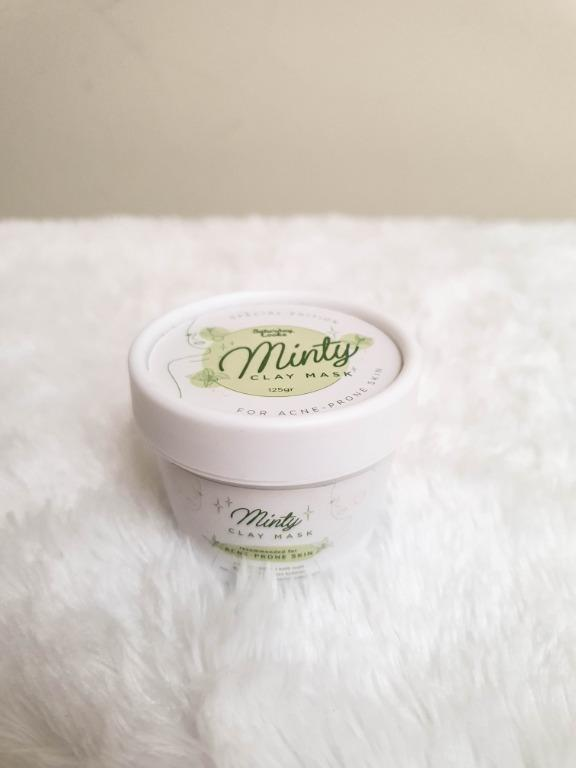PRELOVED SATURDAY LOOKS Minty Clay Mask (non-scrub)
