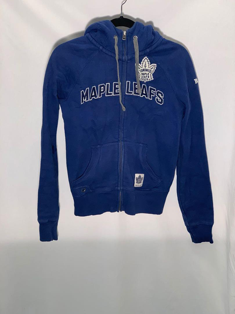 Roots Toronto Maple Leafs zip hoodie - size S - like new