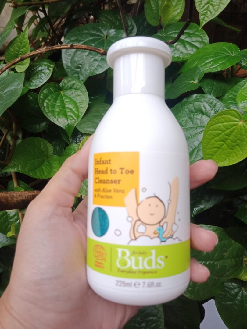 Sabun dan shampoo bayi buds