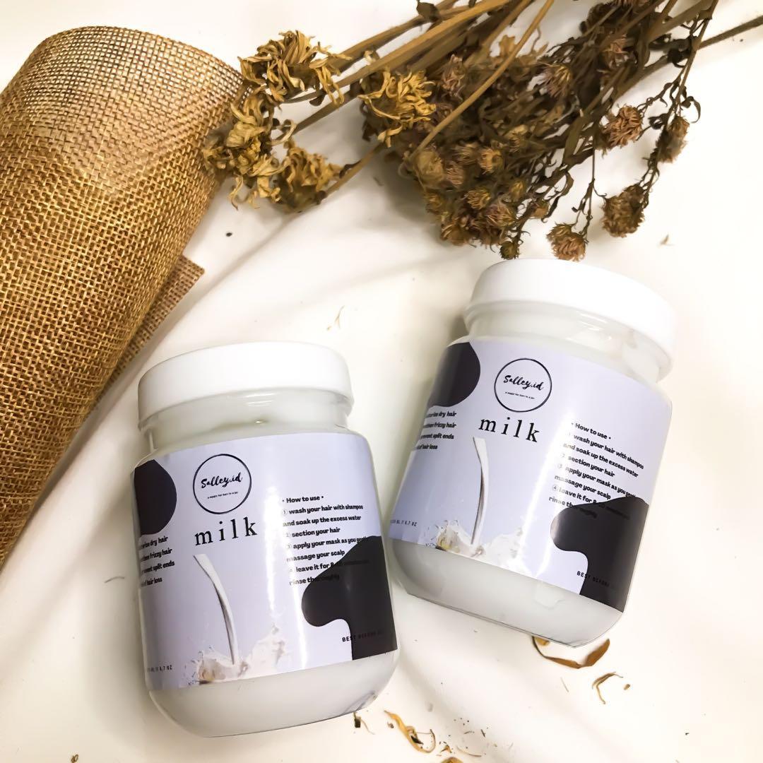 Salley Premium Hair Mask [Milk]