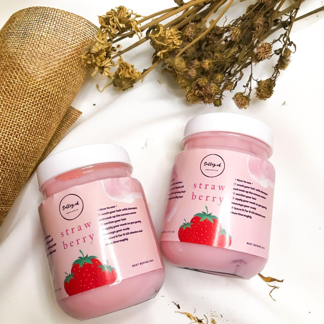 Salley Premium Hair Mask [Strawberry]