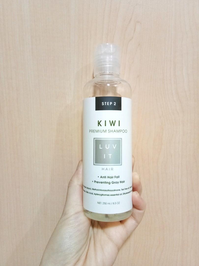 Shampo Luv It Hair Care - Kiwi Premium Shampoo (preloved)