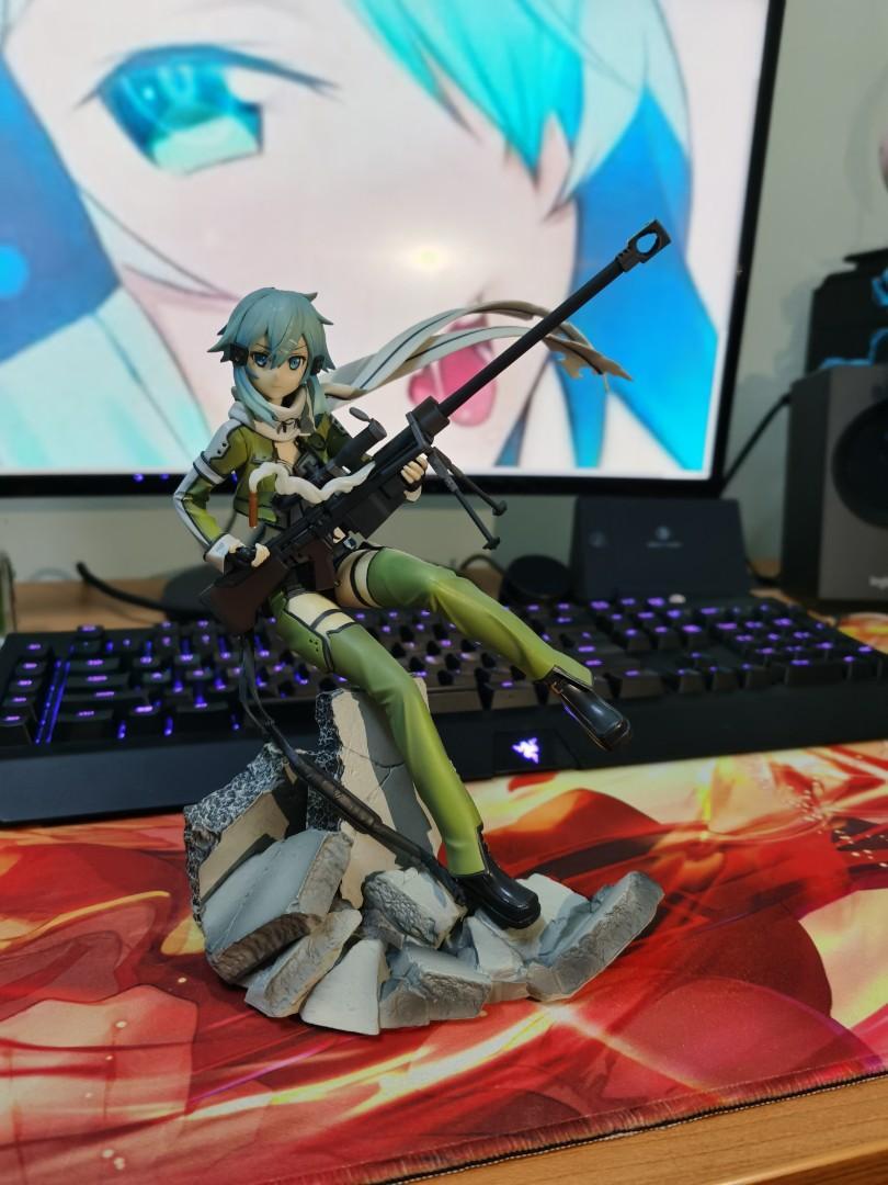 [Meet up only] Sinon 1/8 Scale PVC Figure Sword Art Online