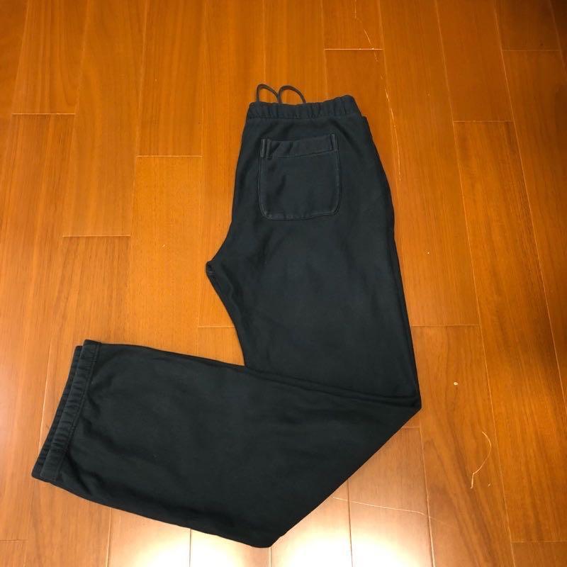 (Size XL) Nike 黑色重磅棉褲 (褲-3)