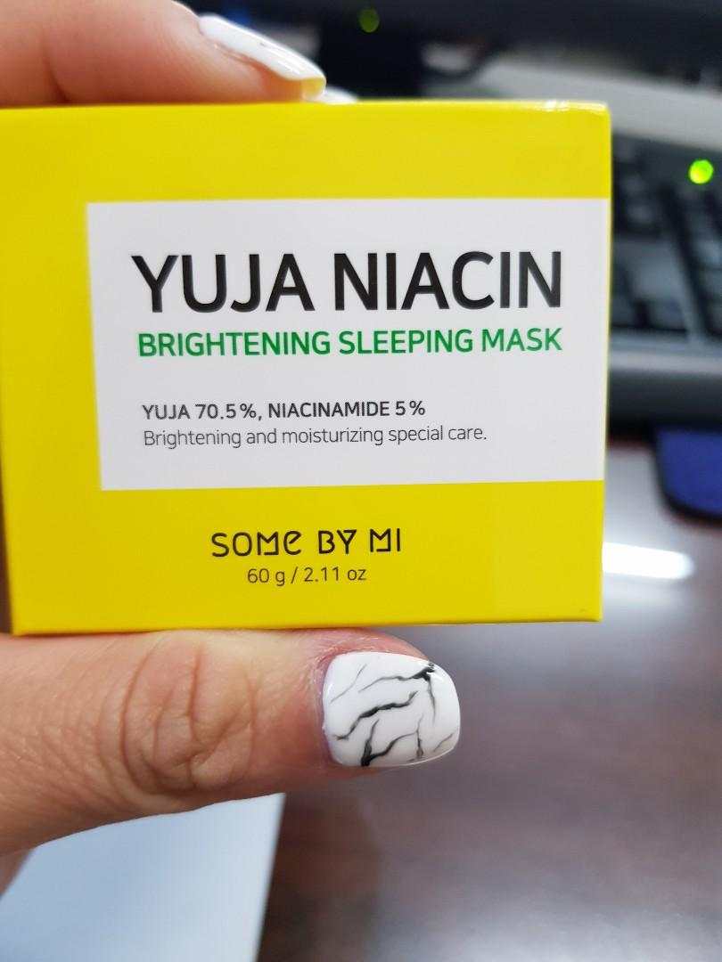 Some By Mi Yuja Niacin Brightening Sleeping Mask 60gr