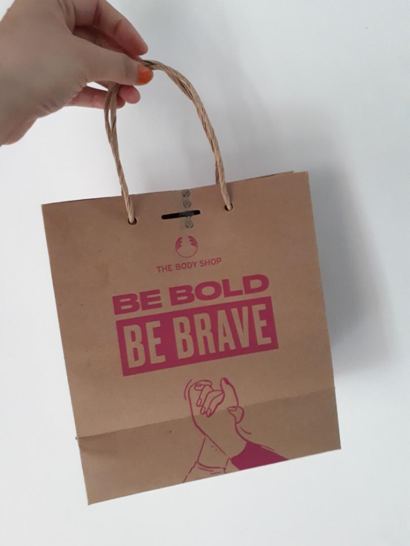 SP_PRELOVED : Paper Bag The Body Shop