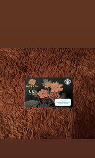 Starbucks Card Indonesia  Limited Edition Reserve Dewata